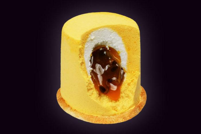 Пирожное-Манго-Маракуйя
