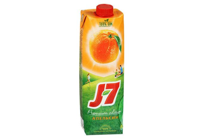 Сок-J7-апесльсин