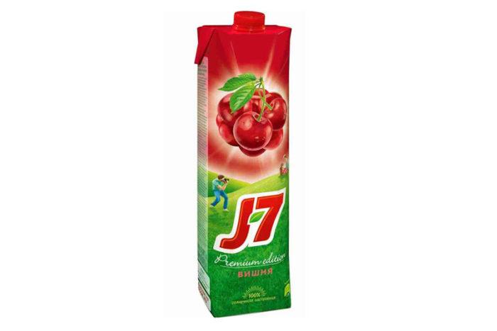 Сок-J7-вишня