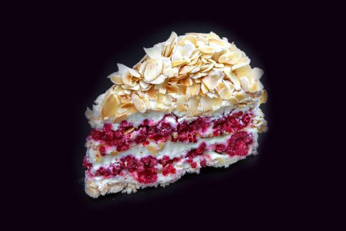 Торт-Миндально-Малиновый