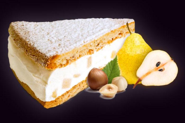 Торт-Рикотта-и-груша