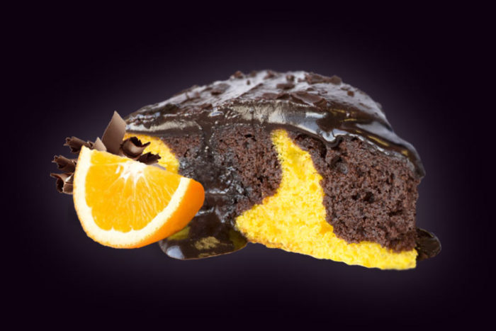 Торт-Шоколадно—Апельсиновый